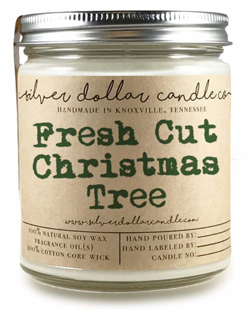 Fresh Cut Christmas Tree Scented Candle