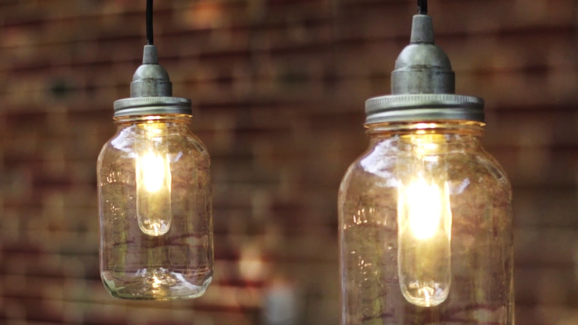 using mason jars to brighten your home
