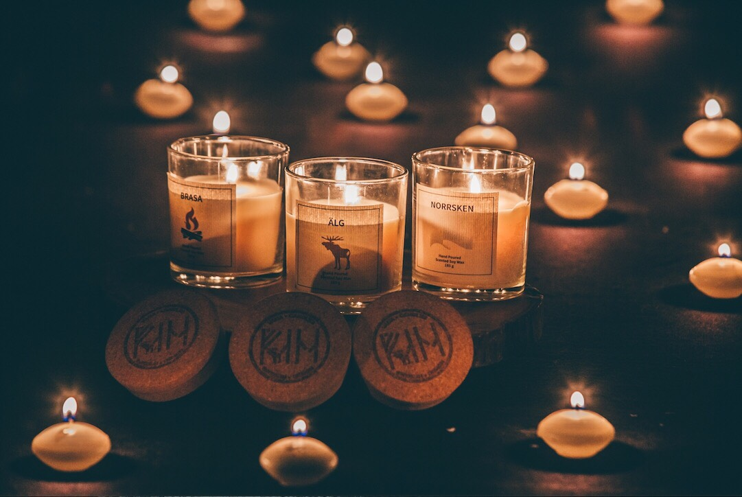 scented candle ideas