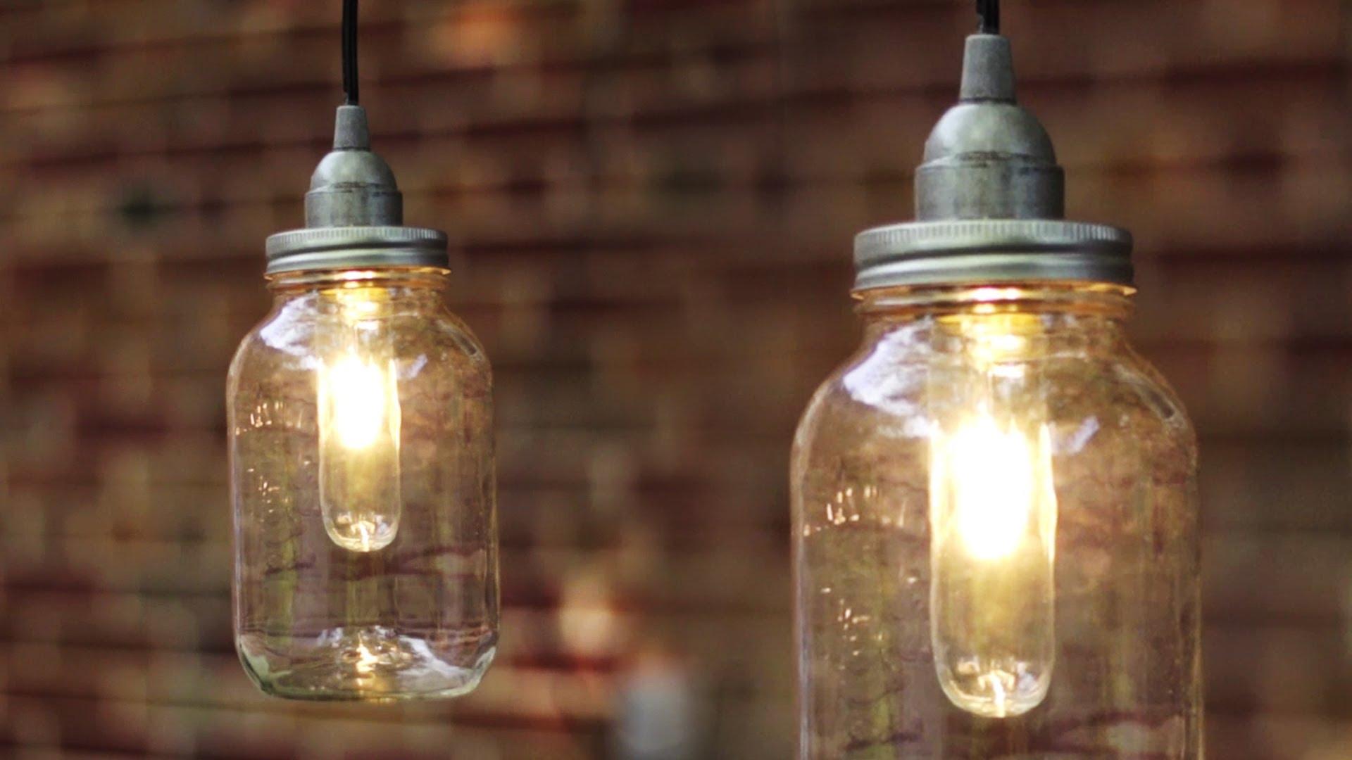using mason jars to brighten your home